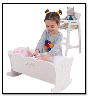 KidKraft Cradle Set