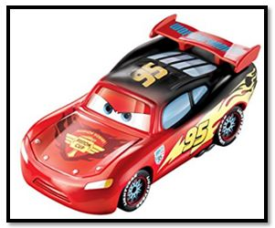 Lighting McQueen Red to Black Color Changer