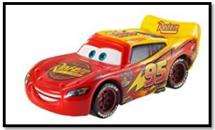 Lighting McQueen Red to Yellow