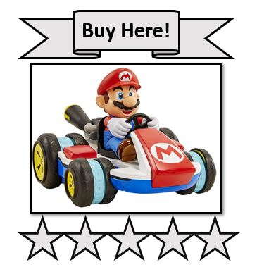 Super Mario Kart 8 Mario Anti-Gravity Mini RC Racer