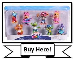 Muppet Babies 8-Piece Figure Set