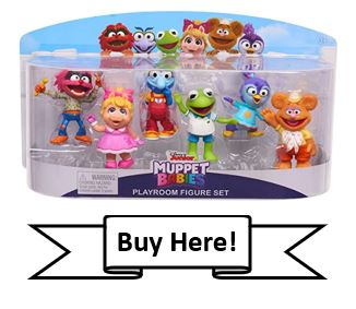 Muppet Babies 6-Pack of Toy Figures