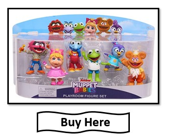 Buy Here Muppet Babies Toy Figures