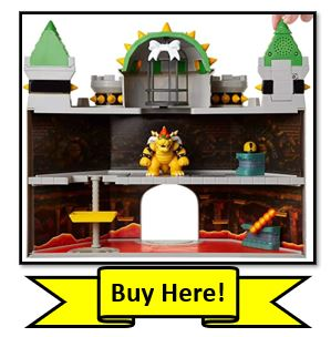 Bowser's Castle Deluxe Playset Buy Here