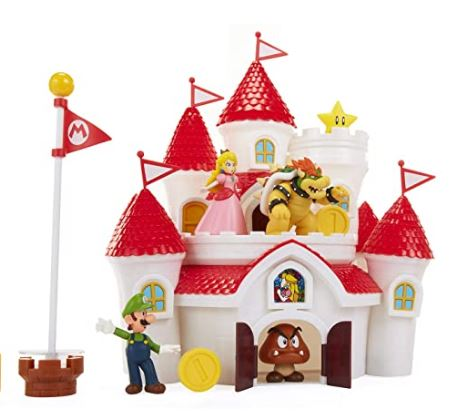 Mario Brothers Mushroom Kingdom Castle Set