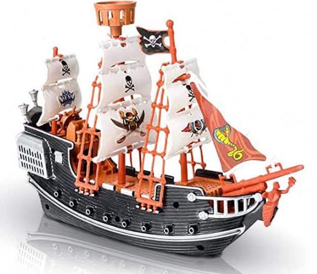 ArtCreativity 10 Inch Pirate Boat Toy