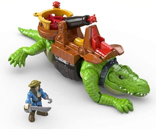 Fisher-Price Imaginext Walking Croc & Pirate