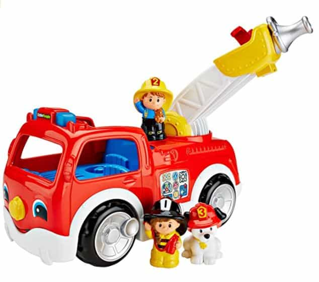 Little People Fire Truck - best toddler transportation toys