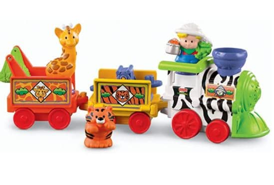 Fisher-Price Little People Zoo Train toy