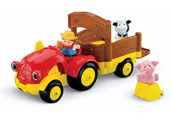 Fisher-Price Little People Tow'n Pull Tractor -
