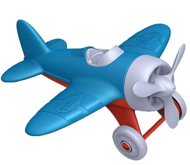 Green Toys Toy Airplane - the best toddler transportation toys
