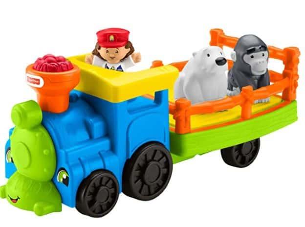 Little People Zoo Choo-Choo Toy Train