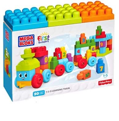 Mega Bloks First Builders 1-2-3 Learning Train Reviewed