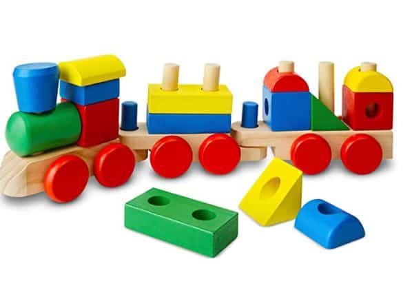 Melissa and Doug Stacking Train Toy Review