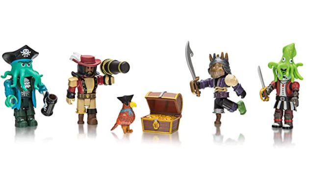 Roblox Action Collection - Pirate Showdown Four Figure Pack