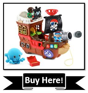 VTech Treasure Seekers Pirate Ship - the best pirate toy for toddlers