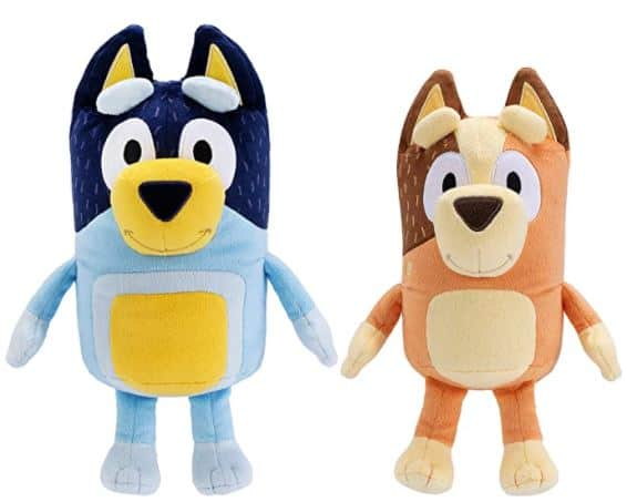 Bluey Mum & Dad Plush Stuffed Animals