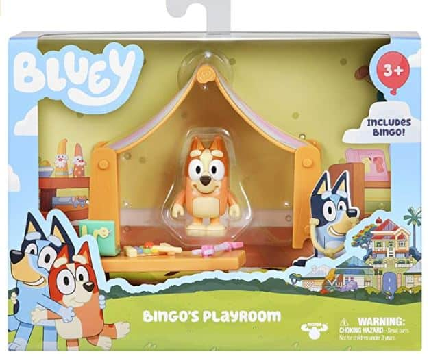 Bingo's Playroom Toy Set
