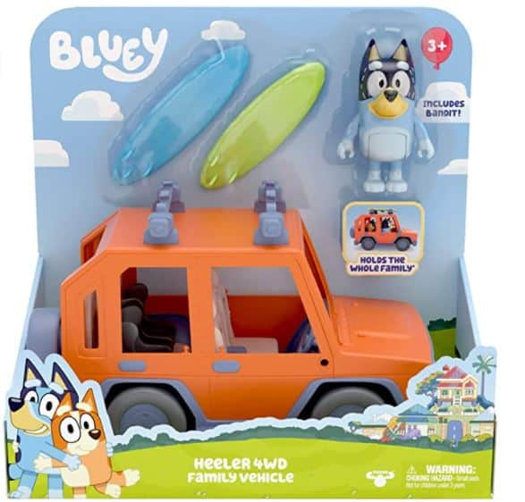 Bluey 4wd Family Vehicle Toy