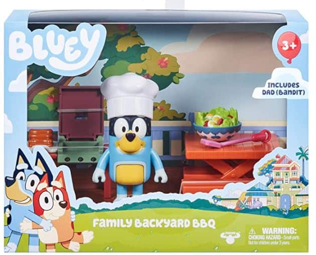Bluey Family Backyard BBQ Playset