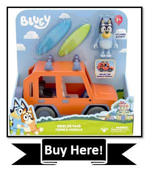 Bluey Family Vehicle Toy - the best bluey toys reviewed