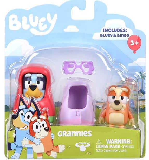 Bluey Grannies Toy Figure Set
