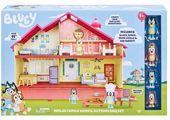 Bluey Mega Bundle Home & BBQ Playset