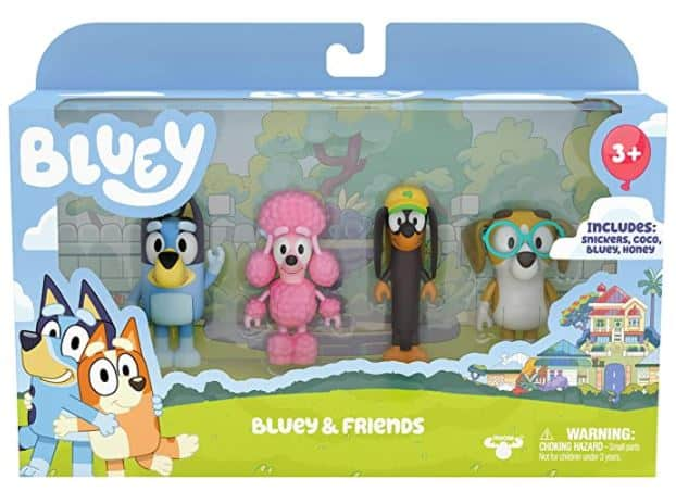 Bluey and Friends Toy Figure Set