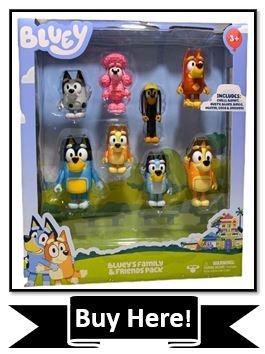 Bluey's Family & friends toy figure pack - best bluey toy figure set