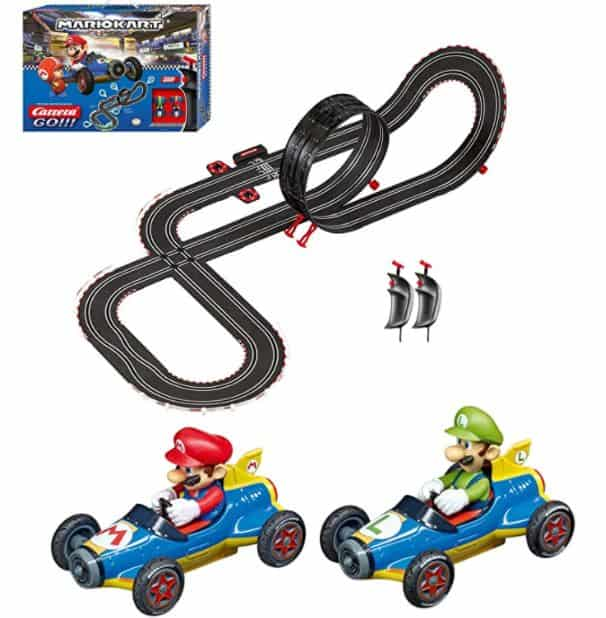 Carrera GO!!! 62492 Mario Kart Mach 8 Electric Powered Slot Car Racing Kids Toy