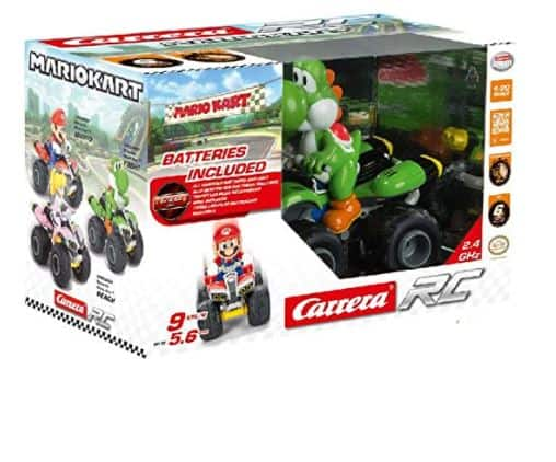 Carrera RC 200997 1:20 Nintendo Mario Kart 8 Yoshi 2.4 GHz RC Vehicle