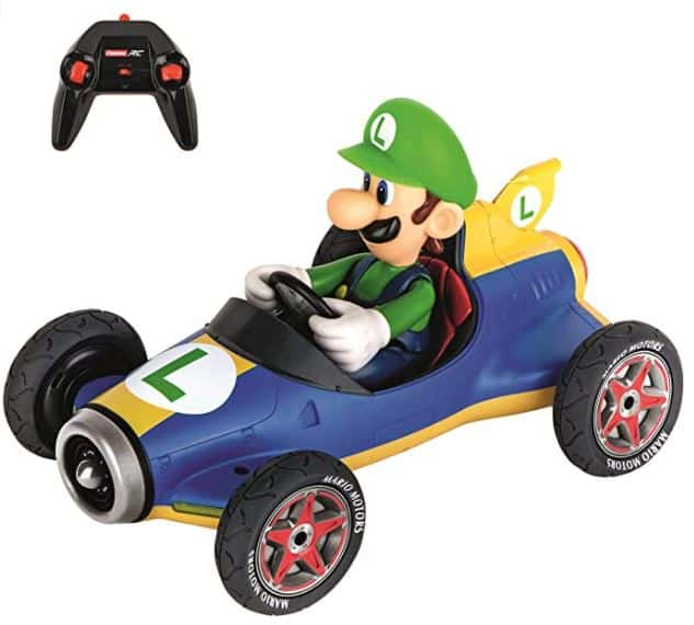 Carrera RC Official Licensed Mario Kart Mach 8 Luigi
