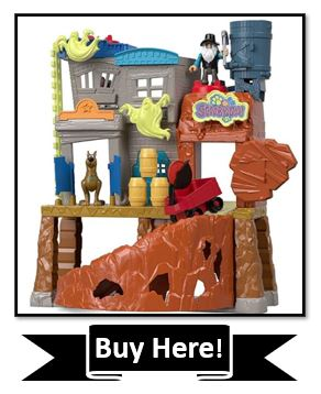 Fisher-Price Imaginext Scooby-Doo Haunted Ghost Town - best scooby doo toys
