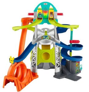 Little People Launch and Loop Raceway Toy