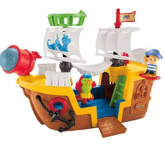 Fisher-Price Little People Lil' Pirate Ship Toy