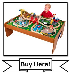 KidKraft Ride Around Train Set - best KidKraft Train Sets