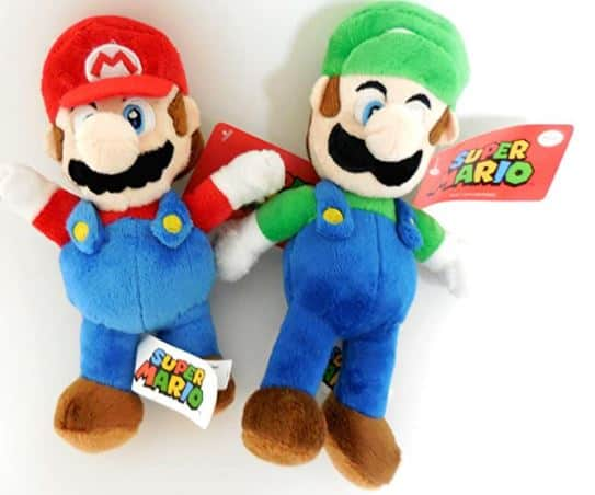 Nintendo Mario and Luigi 2 Plush Large Doll Set