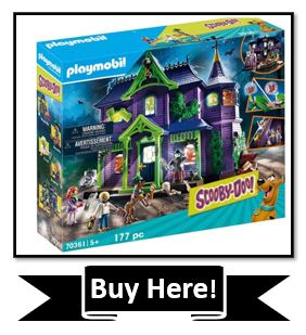 The Best Scooby Doo Toys Reviewed - Playmobil Scooby-Doo Adventure Mansion Playset