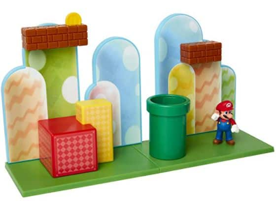 SUPER MARIO Nintendo Acorn Plains Playset