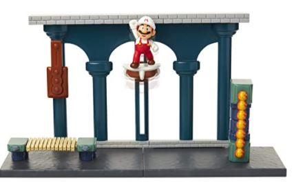 SUPER MARIO Nintendo Lava Castle Deluxe Play Set