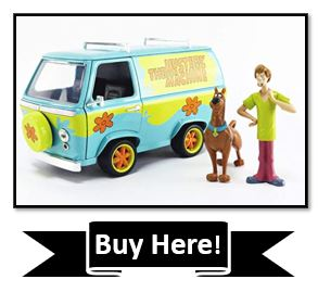 Scooby-Doo 1:24 Mystery Machine Die-cast Car