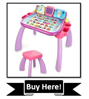 VTech Touch and Learn Activity Desk Reviewed - Purple