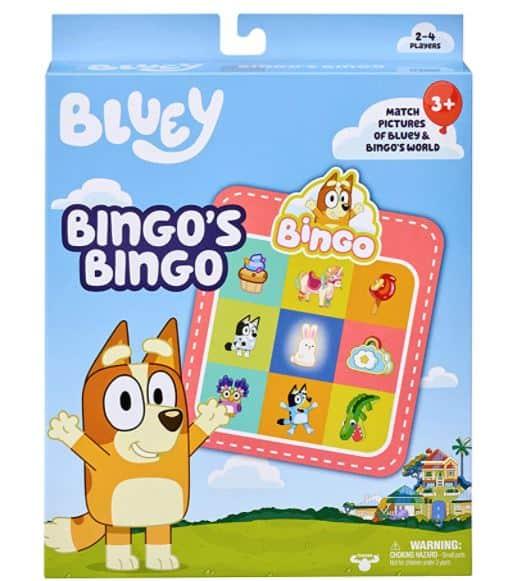 Bluey Bingo's Bingo Game