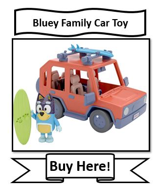 Bluey Family Car Toy