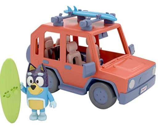 Bluey Family Vehicle Toys Review