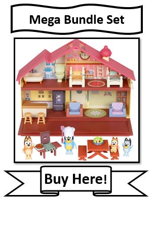 Bluey Playhouse Mega Bundle Set