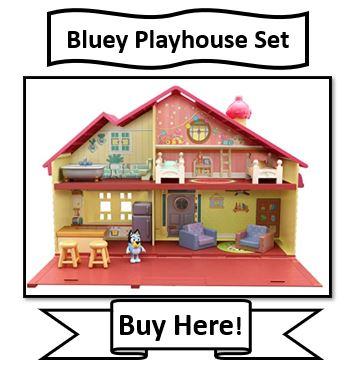 Bluey Playhouse Set