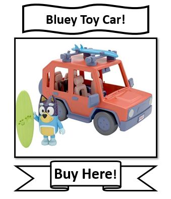 Bluey Toy Car Review