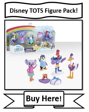 Disney Jr. TOTS Figure Set Reviewed