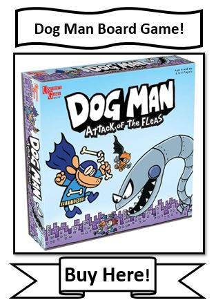 Dog Man Attack of the Fleas Board Game Review